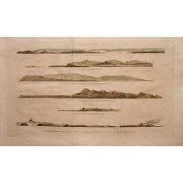 Captain Cook Chart Map 1779, Coast Kamtschatka Asia