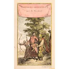 Bosuktu Prince des Kalmuks Russia old print by Bellin print 1750