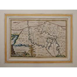 Persia Babylonia Mesopotamia map by Cellarius 1732
