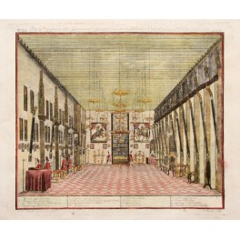 Interior of governor general Adrian Valckenier 1738