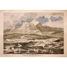 BATTLE OF THE RIVOLLI Napoleon Bonaparte Fine print 1830