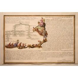 Philip-Joanna-Charles V Family Tree Copperplate 1705