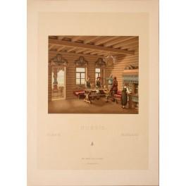 RUSSIA, COSTUME 1860 print Firmin Didot et Cie