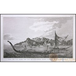 MARQUESAS ISLANDS, FRENCH POLYNESIA, VOYAGE JAMES COOK, OLD ENGRAVING COOK 1780