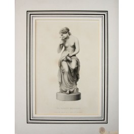 THE FAITHFUL MESSENGER ANTIQUE PRINT BY ROFFE 1849.