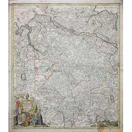 Electoratus Hanoverani Niedersachsen Seutter map 1731