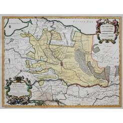 La Seigneurie D' Utrecht Antique map Utrecht Jaillot 1748
