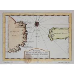 Carte Détroit De Le Maire Le Maire Strait Bellin 1753