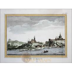 Siberia Beresow. Russian Oblast Antique Bellin print 1758