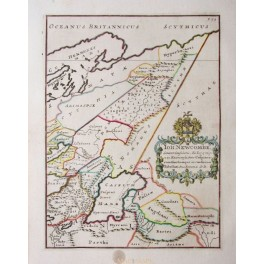 Russia in Europe Persia Turkmenistan map 1740 Anonymous