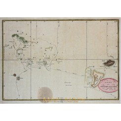 A Chart of the Friendly Islands Cook voyages Hogg. 1790