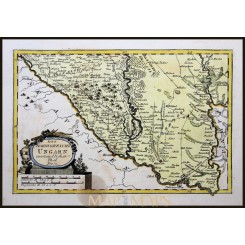 SOUTH WESTERN HUNGARY, ANTIQUE MAP BY VON REILLY 1791