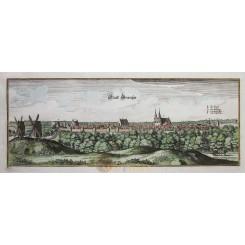 Gransee Antique Print Gransee Germany Merian 1659.