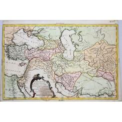 Babylon Assyria Persians Old map Armenia, Philippe 1787