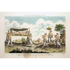 Africa print Carriage & Travelling In Congo Moore 1778