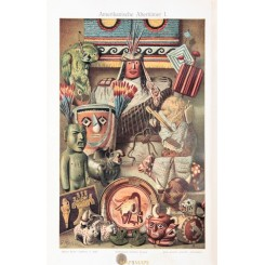 American antiquities Old Print Native American Cultures 1905