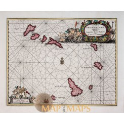 Old France Ancienne Gaule antique map by Mallet 1686