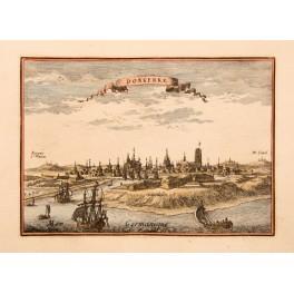 Dunkirk Duinkerken France Antique print v Schley 1667