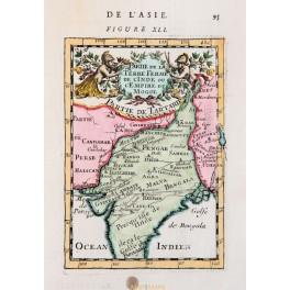 1778 antique map, Germanny, Poland map de Vaugondy