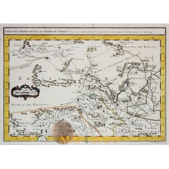 China Great Wall of China antique map by Bellin 1749