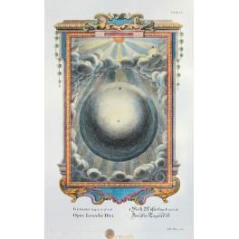 Celestial print Opus Fecundae Diei Scheuchzer 1731