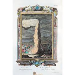 The pillar of cloud and fire column Columna Nubis Diurna Scheuchzer 1731