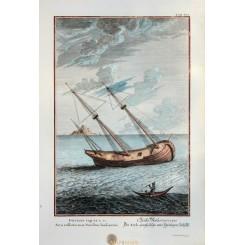 The Ark, Genesis 6-15. Bible Print Scheuchzer 1731