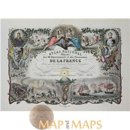Russia Finland old historical map Vaugondy 1750