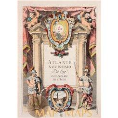 Atlante Novissimo Del Sigr. Guglielmo De L'isle/ Albrizzi 1740