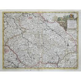 Bohemia Germany Czech Republic antique map van der AA 1712
