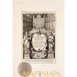 Sancti Fundatores Religiosorum, Title page Galle 1630