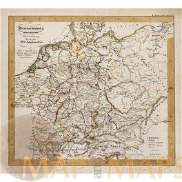 Deutschland Kirchliche Einteilung bis das XVI Karl Spruner 1846