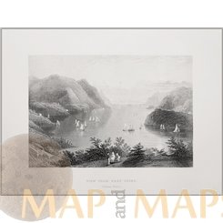 West Point New York Old Antique Prints by W.H. Bartlett 1840
