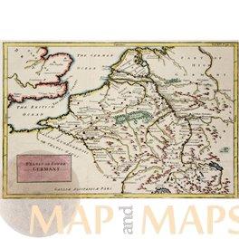 Lower Germany in Roman times, Cellarius 1748.