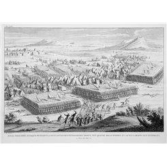 Bible History. The defeat of Timotheus old print Calmet 1724