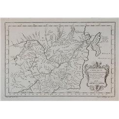 Russian maps. Carte de la Tartarie Orientale Asia Bellin 1754