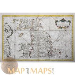 Carte Réduite des Isles Britanniques. Isle of Man map by Bellin 1757