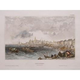 Kostroma Russia Fine Old print 1850