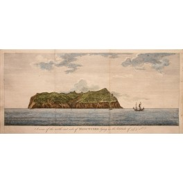 Patagonie Argentina Chili G. Ansons voyages 1748 print