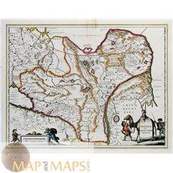 China Tartary map Tartaria sive Magni Chami Imperium Blaeu 1646