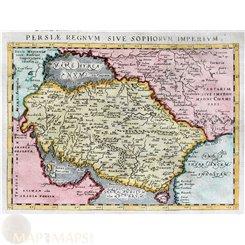 Persia Asia antique map Maginus/Ptolemaeus 1621