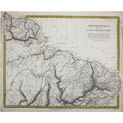 South America Guyana North Brazil Suriname map SDUK1836