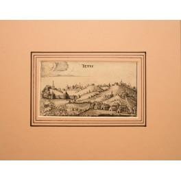 Tetjoesji Tatarstan antique print Adam Olearius 1680
