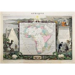 Africa - Levasseur - Islamic Africa 1844   MAPANDMAPS (Map and Maps)
