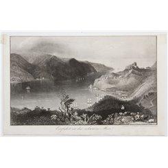 Black Sea Entry Antique Print Carl Mayer 1850