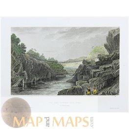 1757 map CAMP DE RODVOLT, Rodewald Germany v. Schley