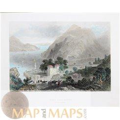 FORTRESS OF BEIL-GOROD BOSPHORUS TURKEY ANTIQUE PRINT MEYER 1838