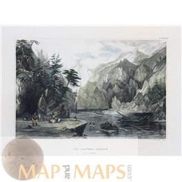 India prints The source of the Ganges Himalayas Meyer 1852