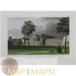 Germany prints, The Kurhaus in Wiesbaden by Meyer 1850