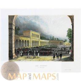 Bad Kissingen Germany Fine antique art print 1850